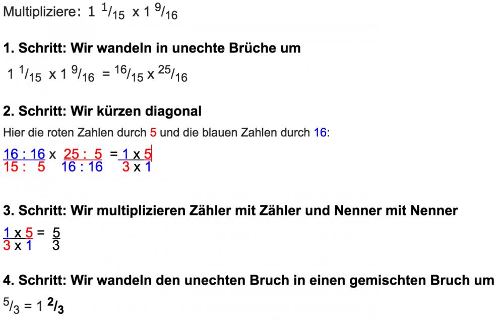 brüche multiplizieren - wwwin-lernen.at