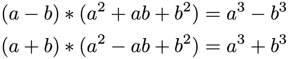 Binomische Formeln hoch 3 - www.mein-lernen.at