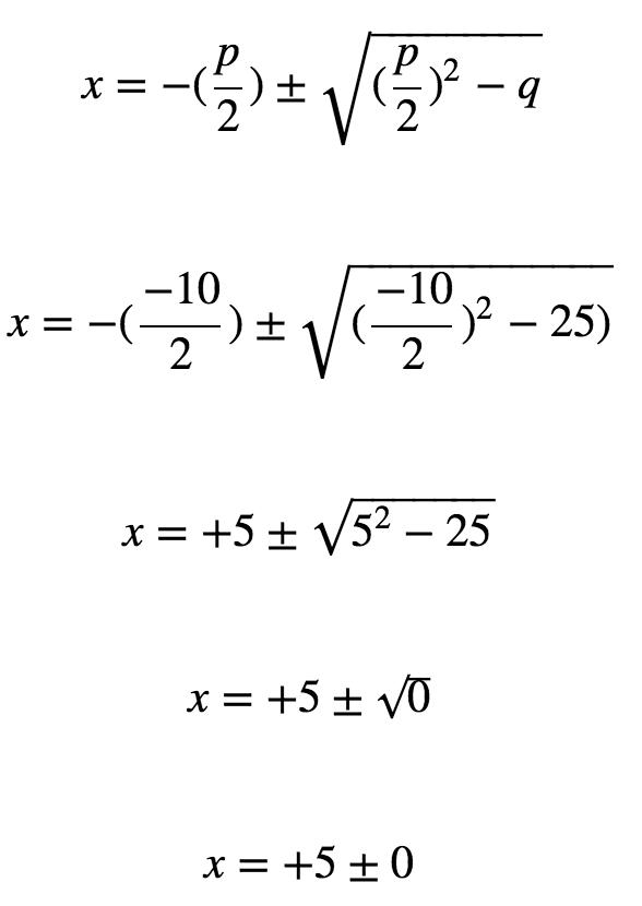 Quadratische Gleichung pq-Formel Übung 5 - www.mein-lernen.at